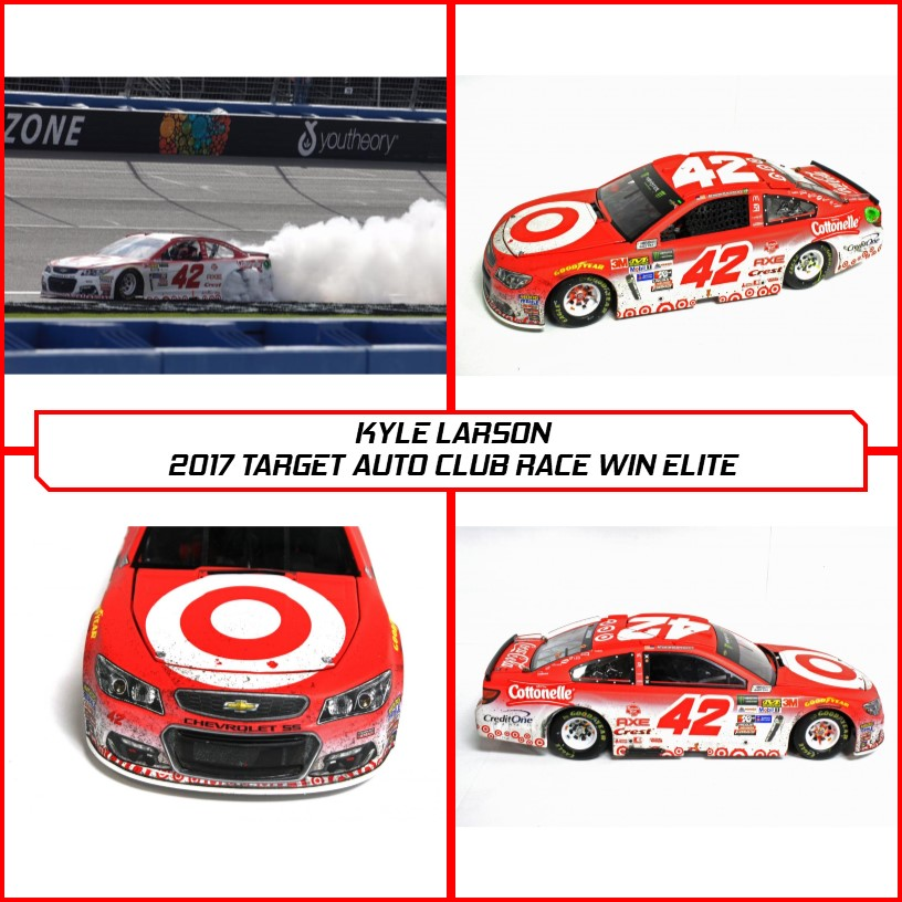 Kyle Larson 2017 Richmond Race Win Diecast We Take Customers As Our Gods Other Autographed Nascar Items