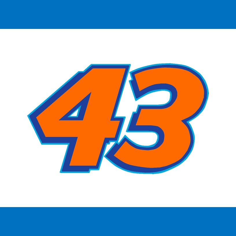 2018 Darrell Bubba Wallace Jr Cup Number Cards