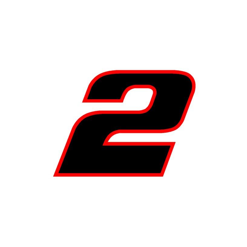 2019 Brad Keselowski Cup Number Cards  U2013 Diecast Charv